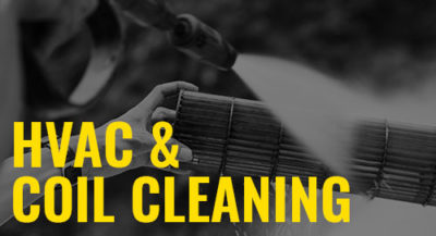 HVAC and coil cleaning sprayers